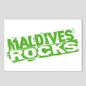 Maldives Rocks Postcards (Package of 8)