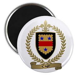 CYR Family Crest Magnet