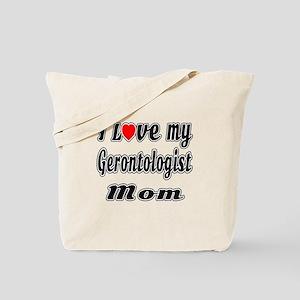 I Love My Game designer Mom Tote Bag