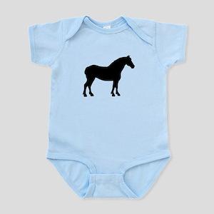 Draft Horse Infant Bodysuit