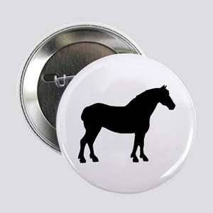 "Draft Horse 2.25"" Button"