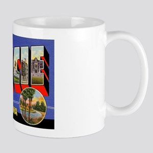 Muncie Indiana Greetings Mug