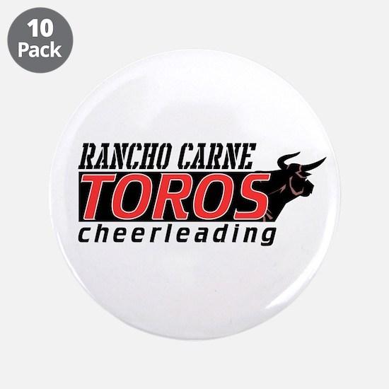 "Rancho Carne Toros 3.5"" Button (10 pack)"