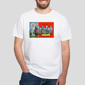 Raleigh North Carolina Greetings White T-Shirt