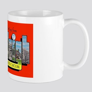 Raleigh North Carolina Greetings Mug