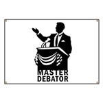 Master Debator Banner