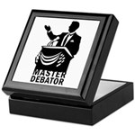 Master Debator Keepsake Box