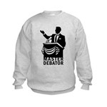 Master Debator Kids Sweatshirt