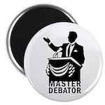 Master Debator Magnet
