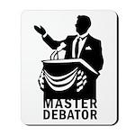Master Debator Mousepad
