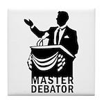 Master Debator Tile Coaster