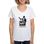 Master Debator Women's V-Neck T-Shirt
