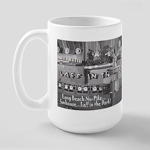 PIke Laff in the Dark Large Mug
