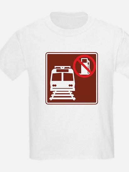 Save Gas: Take Light Rai T-Shirt