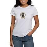 CROTEAU Family Crest Women's T-Shirt