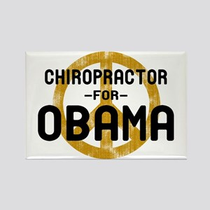 Chiro for Obama Rectangle Magnet