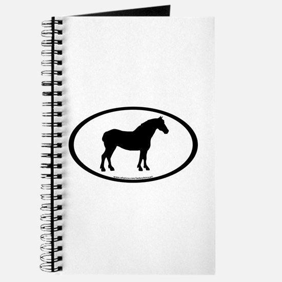 Draft Horse Oval Journal