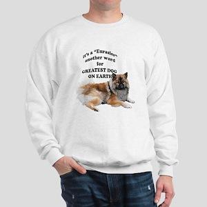 Eurasier dog Sweatshirt