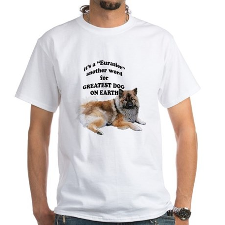 Eurasier dog White T-Shirt