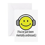 You've Just Been Mentally Und Greeting Cards (Pk o