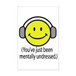 You've Just Been Mentally Und Mini Poster Print