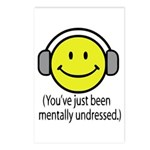 You've Just Been Mentally Und Postcards (Package o