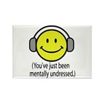 You've Just Been Mentally Und Rectangle Magnet (10