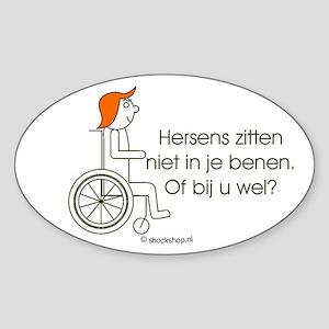 Sticker hersens