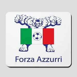 """Whooligan Italy """"Forza Azzurri"""" Mousepad"""