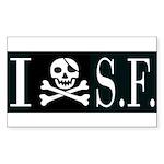 I Hate Frisco Rectangle Sticker 10 pk)