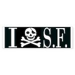 I Hate Frisco Bumper Sticker (50 pk)