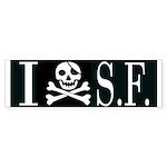 I Hate Frisco Bumper Sticker (10 pk)