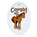 Cowgirl Keepsake (Oval)