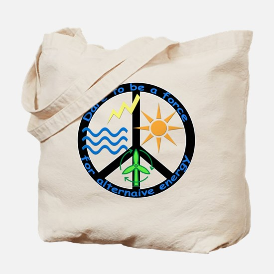 Force For Alternative Energy Tote Bag