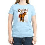 Cowgirl Women's Pink T-Shirt