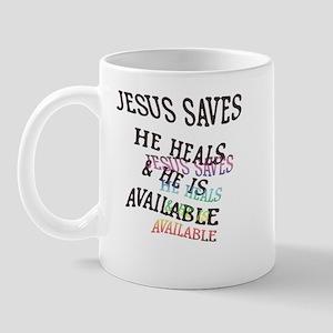 Jesus is avail! Mug