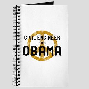 Civil Engineer for Obama Journal