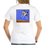 The Tao of Play Ladies V-Neck T-Shirt