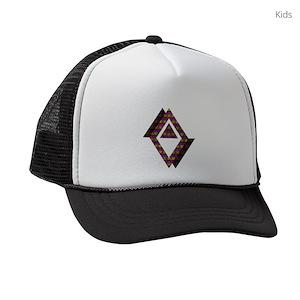 3ae0892988d Big Cat Kids Trucker Hats - CafePress