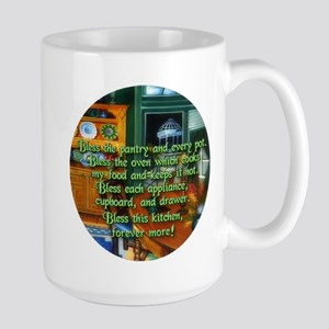 Wicca Kitchen Blessing Stainless Steel Travel Mugs