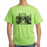 SpecGram Phonetics/Phonology Green T-Shirt