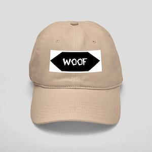 WOOF /BLACK SIGN Cap