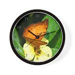 Butterfly 3 Wall Clock