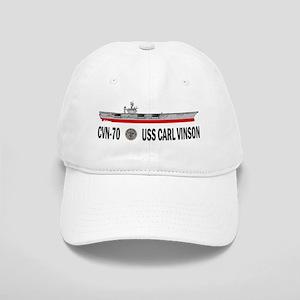 USS Vinson CVN-70 Cap