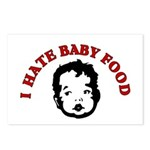 I Hate Baby Food Postcards (Package of 8)