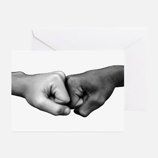 Fist Bump Greeting Cards (Pk of 10)