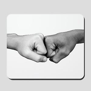 Fist Bump Mousepad