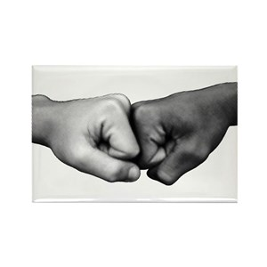 Fist bump magnets cafepress m4hsunfo
