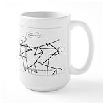 SpecGram Phonology/Phonetics Large Mug