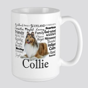 Collie Traits Travel Mugs